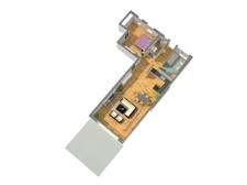 3D-Grundriss WE 3