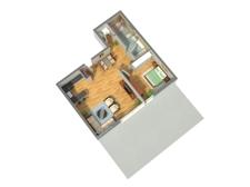 3D-Grundriss WE 4