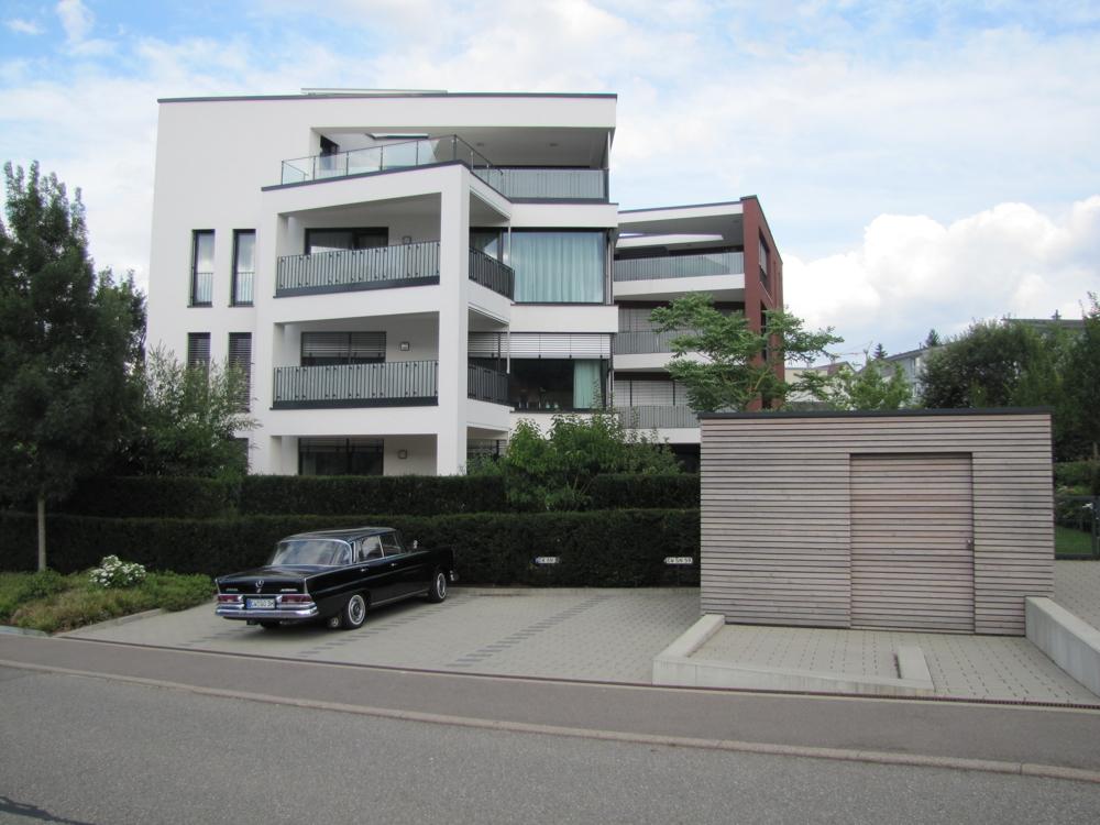 Die Ansicht des Hauses