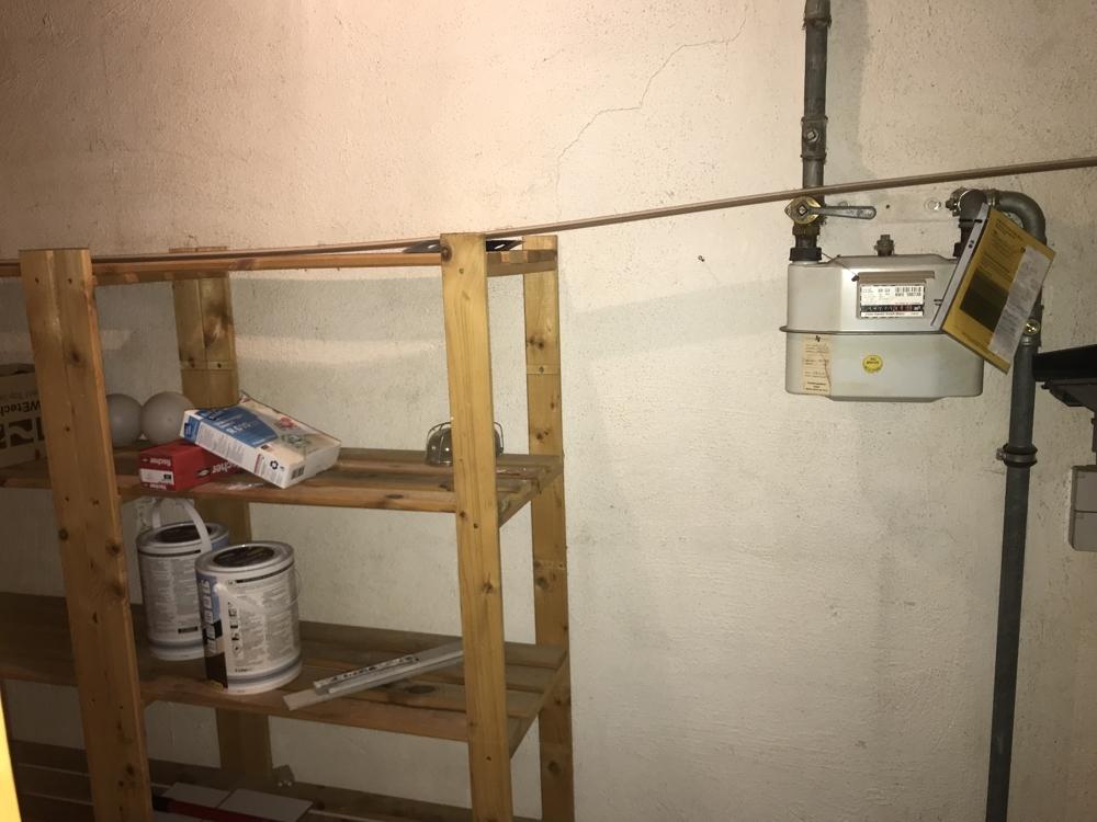 Der Kellerraum in der Wohnung