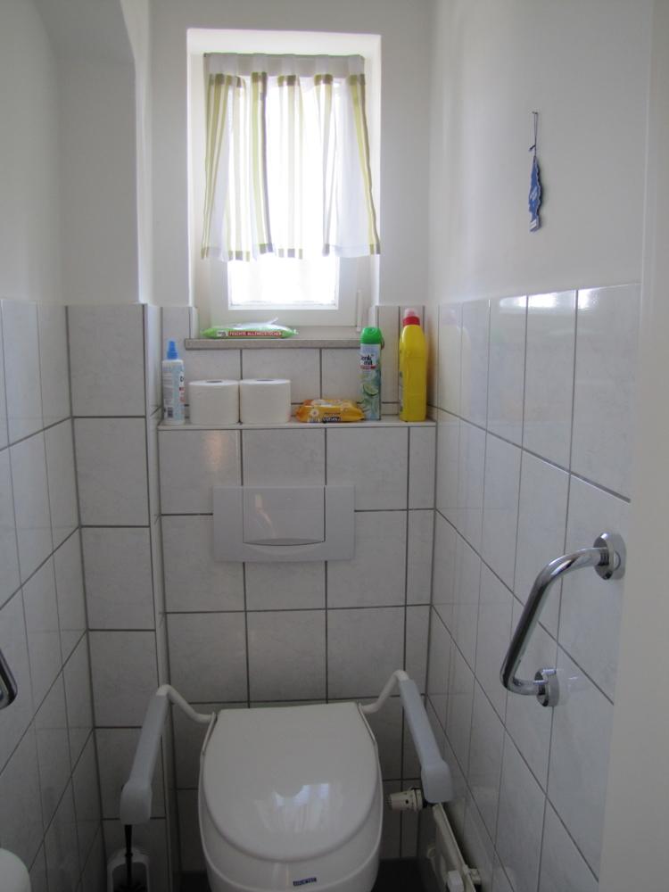 Die separate Toilette