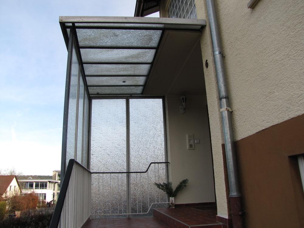 Haupteingang des Hauses