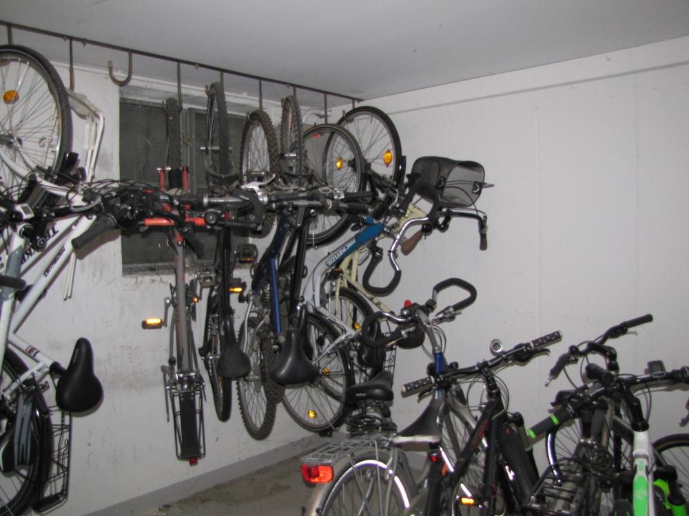 Der Fahrradraum