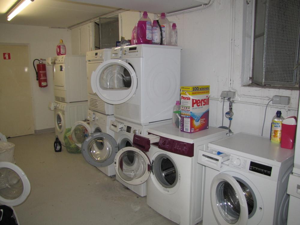 Der Waschmaschinenraum