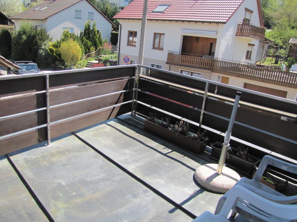 Balkon im OG