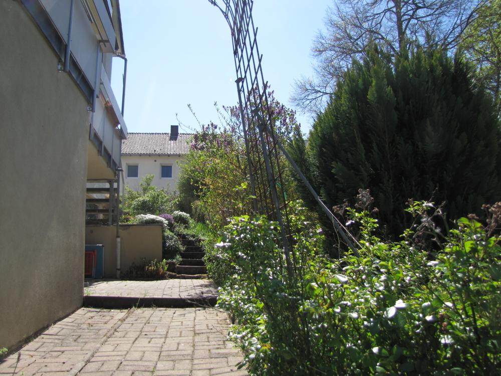 Garten Richtung Süden