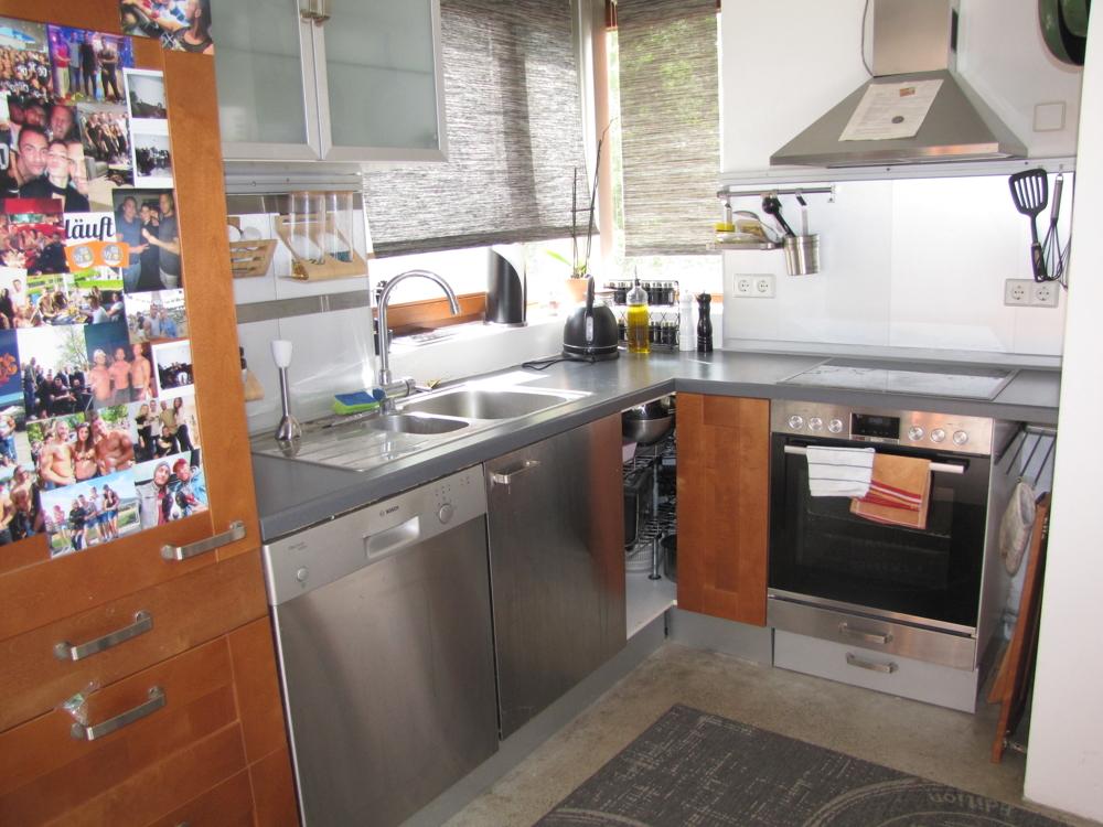 Die integrierte Küche!