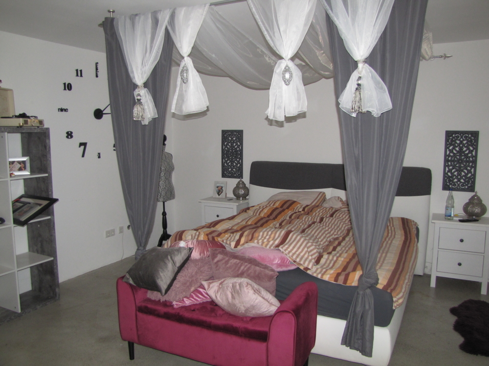 Das Schlafzimmer!