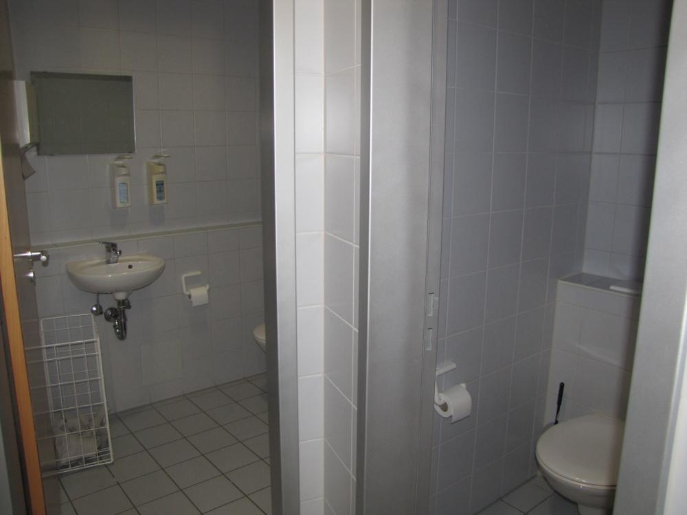 Die Toilettenanlage