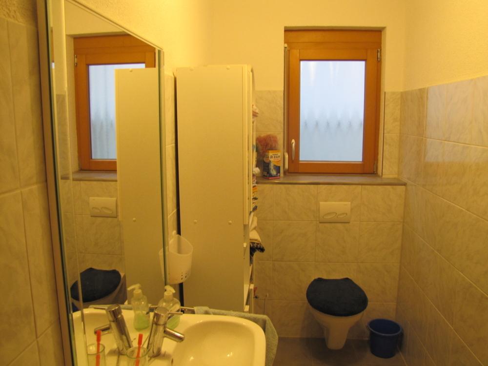 Das Gäste-WC im EG