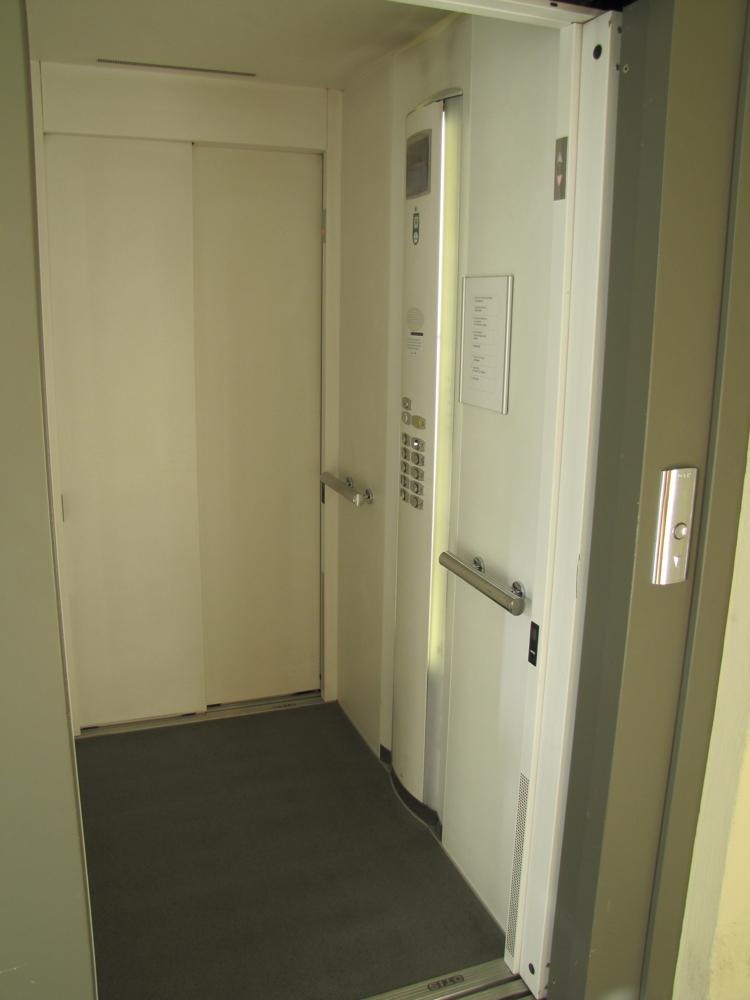 Der moderne Aufzug