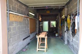 Garage groß