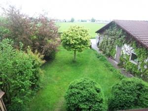 Garten Blick Balkon