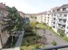 Aussicht vom Balkon.