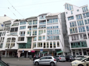 Ansicht von Belgradstraße