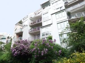 Hausansicht von Balkonseite