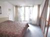 Schlafzimmer mit SW-Balkon
