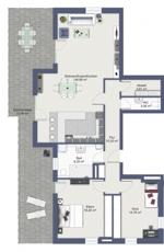 Grundriss Wohnung 11