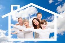 Bauplatz für die ganze Familie