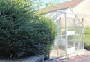 Für Gartenfreunde, ein Gewächshaus