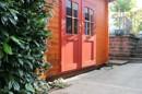 Ein Gartenhaus gibt es auch