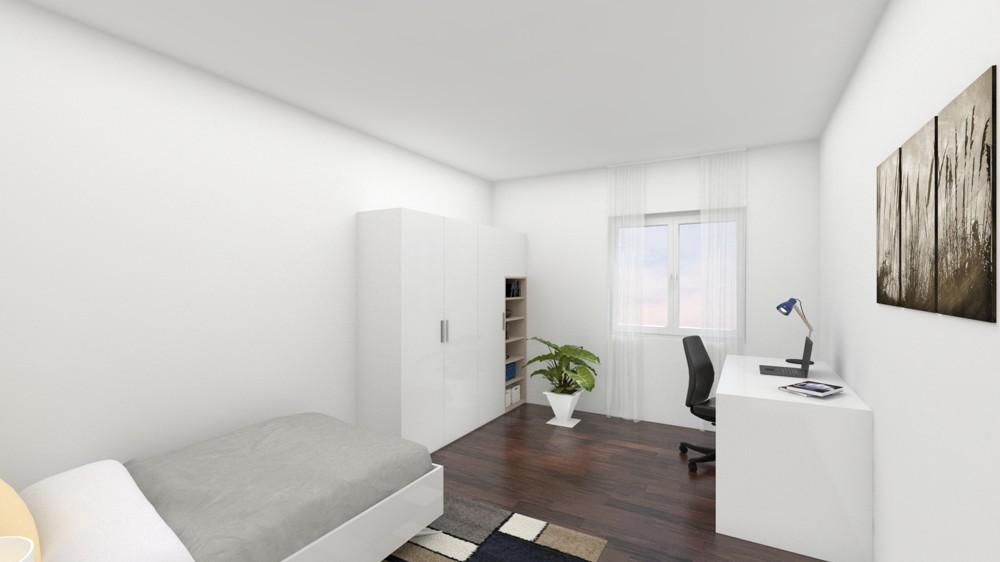 2. Schlafzimmer (Wohnbeispiel)