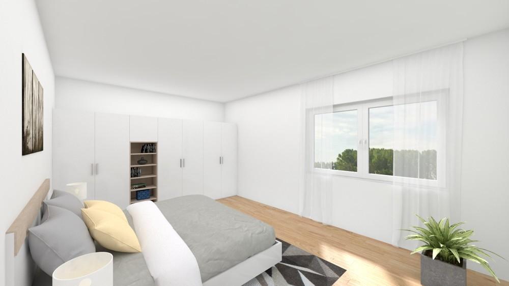 Großzügiges Schlafzimmer (Wohnbeispiel)