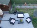 Blick auf die Terrasse