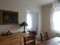Blick vom Esszimmer zum Wohnzimmer