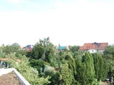 Blick von der Dachterrasse
