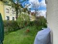 Gartenanteil neben dem Haus