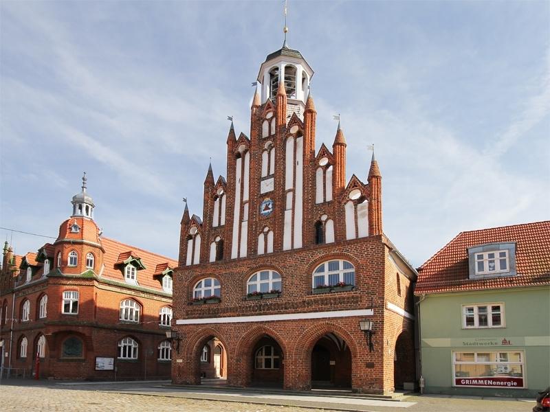 Rathaus in Grimmen