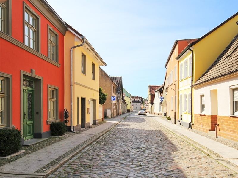 Typische Bebauung in der Altstadt