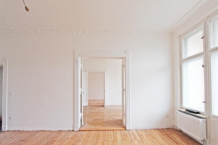 Blick durch die Zimmer
