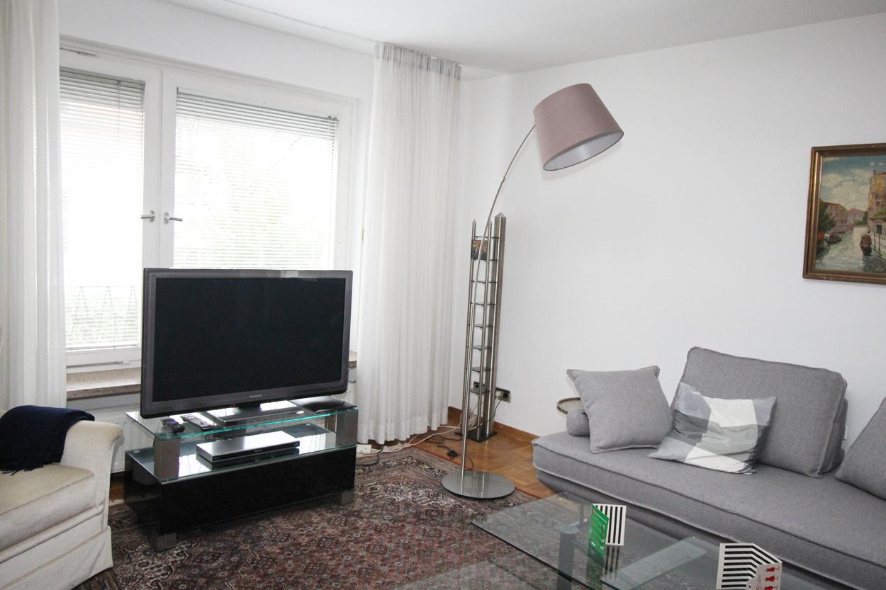 Arbeits-/Wohnzimmer
