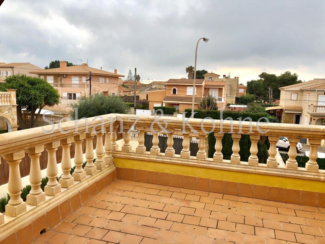 Dachterrasse mit Meerblick bis Palma