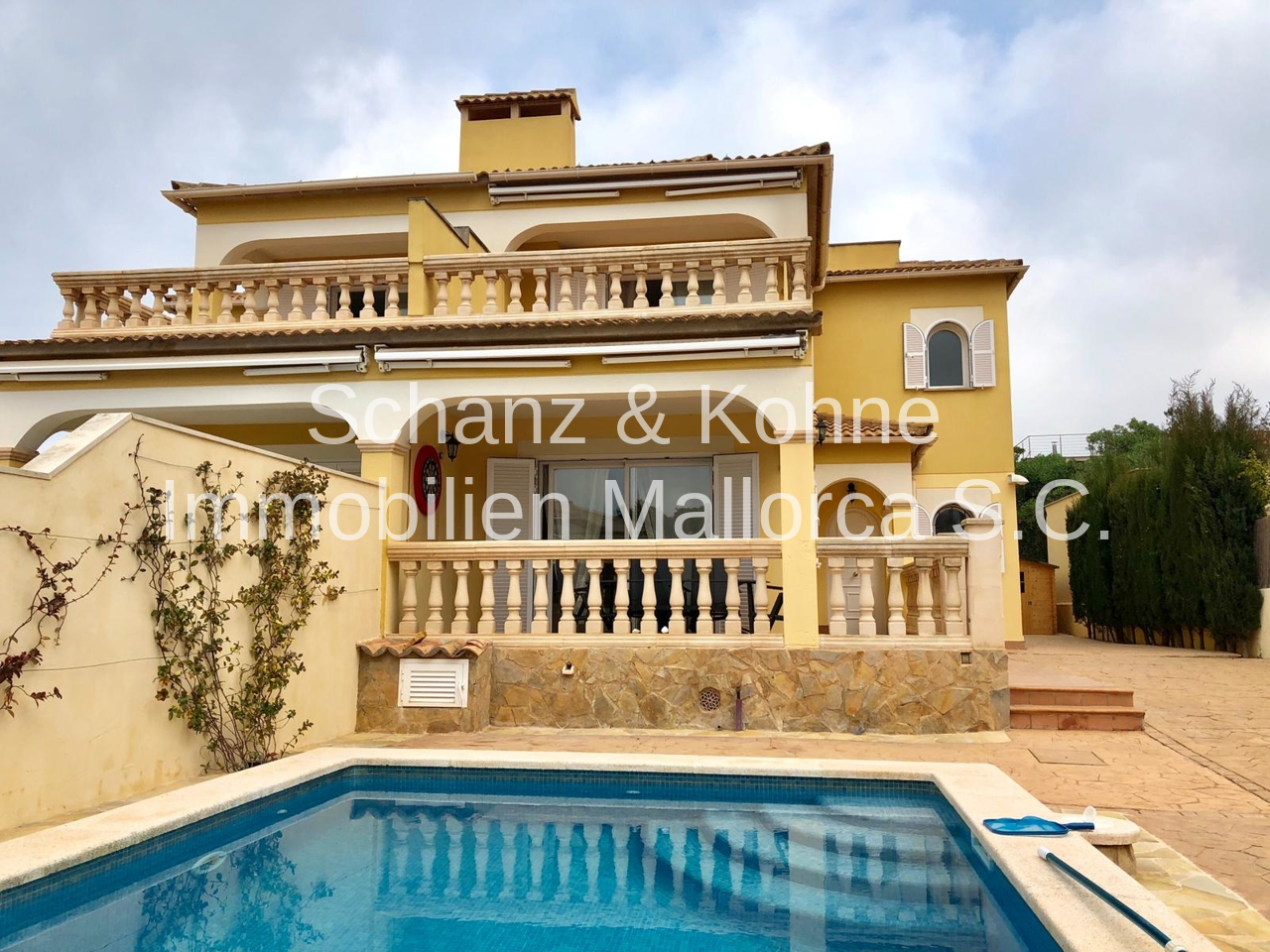 Haus im mediteranen Stil