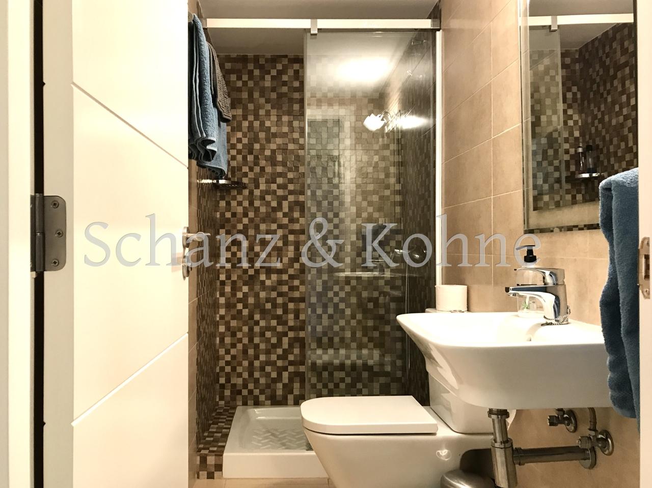 kl. Badezimmer