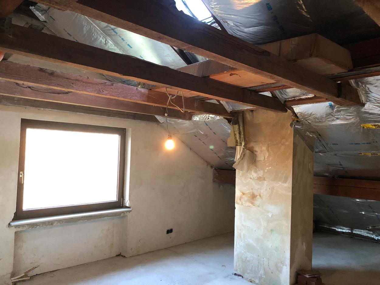 Ausbaureserve Dachgeschoss