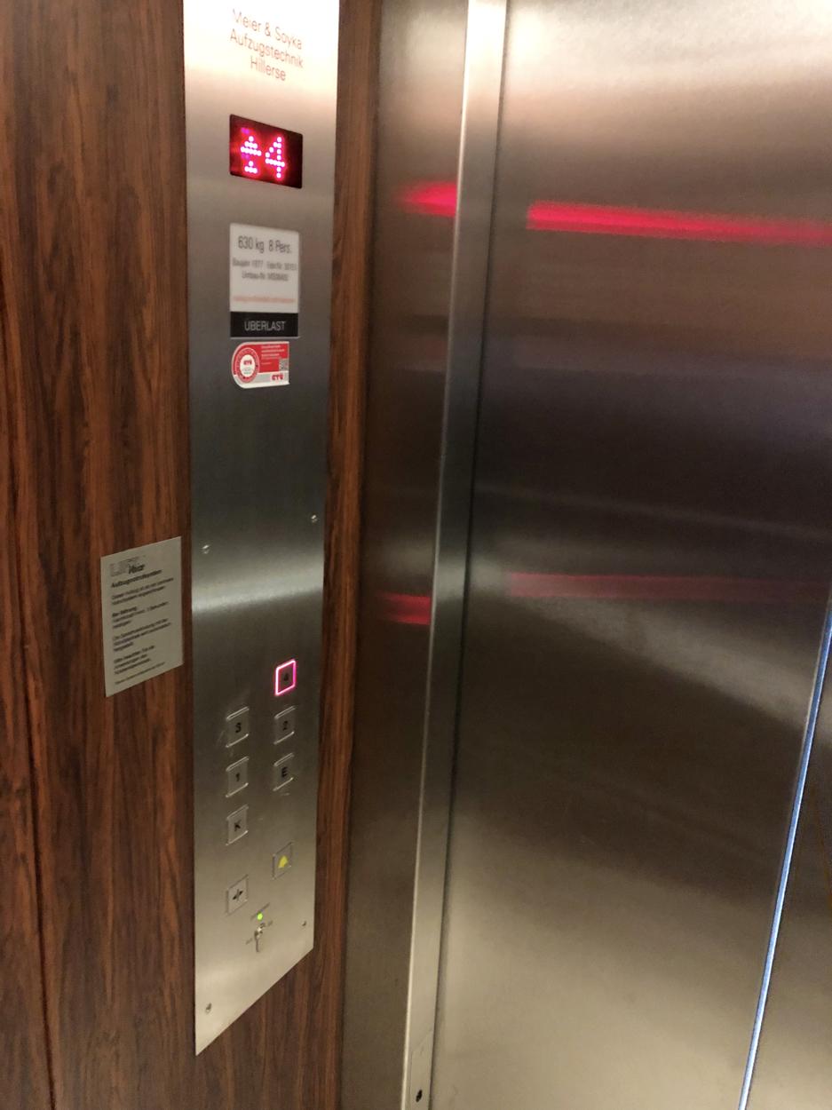 Fahrstuhl ins Penthouse