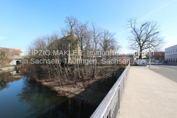 Blick von Brücke Saalfelder Str