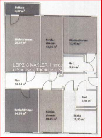 Grundriss 5-Raum