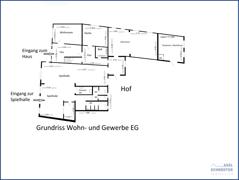 6 Grundriss EG Spiehalle