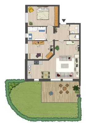 Wohnung A1