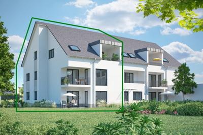 Haus A Gartenseite