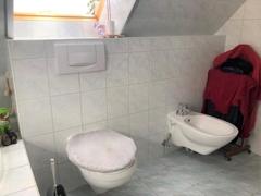 Wandhängendes WC und Bidet
