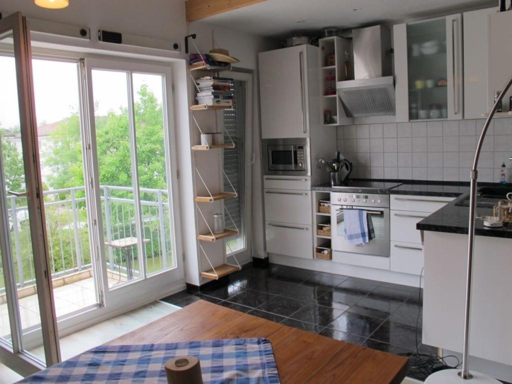 Zugang Balkon-Küche