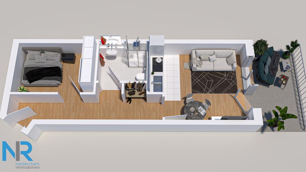 Grundriss aus einer vergleichbaren Wohnung