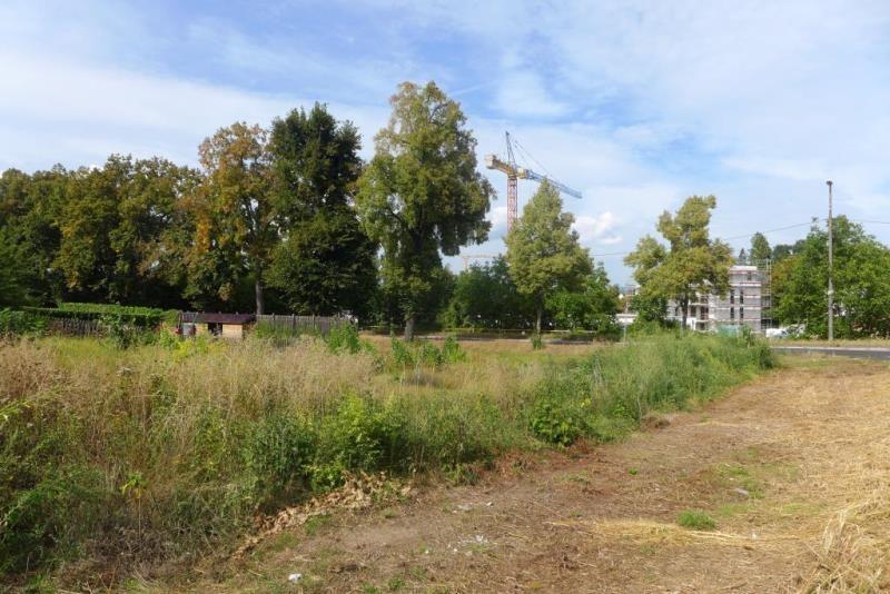 Grundstück-Blick Richtung