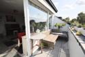 Dachterrasse - vom Wohnbereich zugänglich